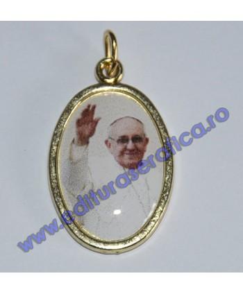 Medalion. Papa Francisc