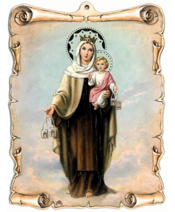 Maria, Regina Sf. Scapular