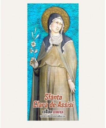 Semn de carte Sfânta Clara...