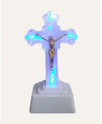 Cruce de plastic luminată...