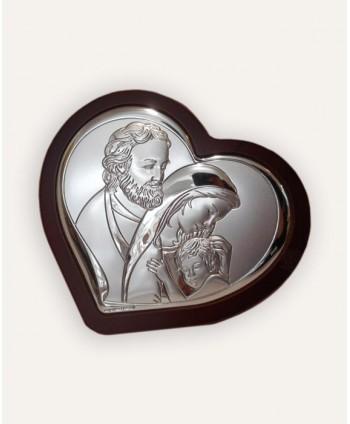 Icoană argintată Sfânta...
