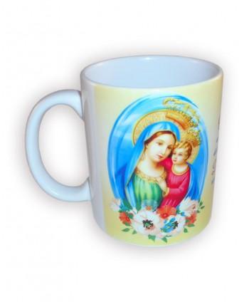 Cană Fecioara Maria cu...