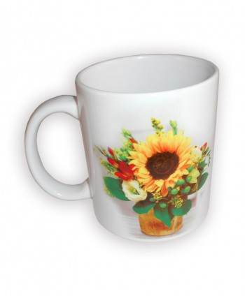 Cană imagine flori, cană 15