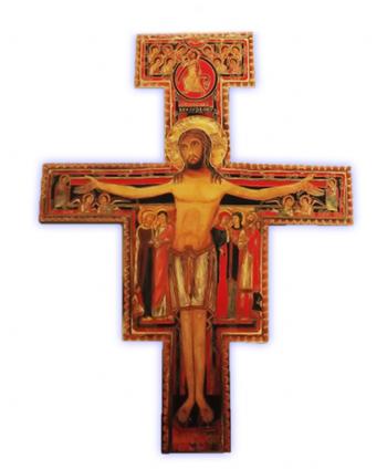 Cruce franciscană mare San...